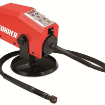 Safety with flexible drive polishing equipment - Suhner Rotomax 1.5