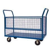 Heavy Duty Caged Trolley