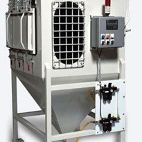 Hylec Controls Dust Test Chamber