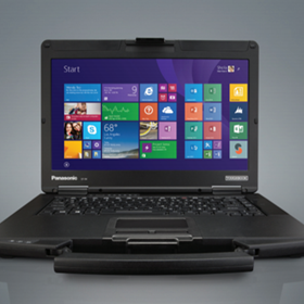 "Panasonic | Toughbook  Laptop Computer | CF-54 (14.1"") Semi-rugged"
