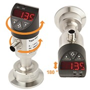 Electronic pressure switches in sanitary applications