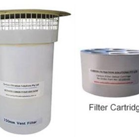 Activated Carbon Odour Vent Filter | 150mm