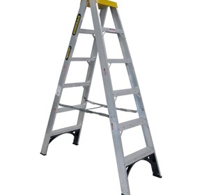 Aluminium Double Sided Step Ladder 120 kg 6ft 1.8m | Gorilla Series