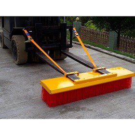 Forklift Brooms Heavy Duty to 2400mm Width