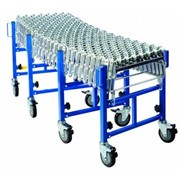 Heavy Duty Skate Wheel Expandable Conveyor