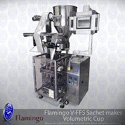 Flamingo Vertical Form Fill Sachet Maker-Volumetric Cup | EFFFS-G2800