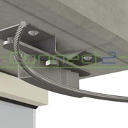 Connect2 Concrete Overhead Lifeline Corner Assembly | CA418