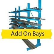 Add-On Bay Light Duty Cantilever Racking