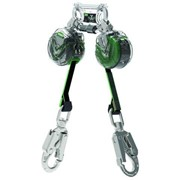 MSA V-TEC™ Twin Leg Mini Personal Fall Limiter 1.8m w/ Steel Swivel SH
