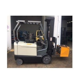 Crown 4 Wheel Electric Counterbalance Forklift