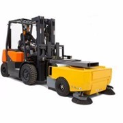 Forklift Sweeper Attachment