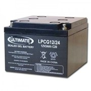 Ultimate | Industrial Batteries | Cyclic Gel, 12V 24Ah