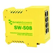 Industrial Ethernet 8 Port Switch DIN Rail Mountable
