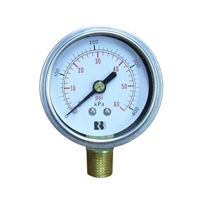 Industrial Pressure Gauges - By Ross Brown Sales