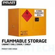 1000L 2-Door Flammable Storage Cabinet