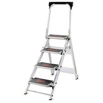Safety Step Stair Ladder 4 Steps | Little Giant