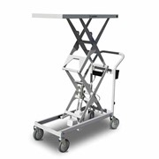 Battery Powered Double Scissor Lift Trolley - 100kg capacity | SLB100
