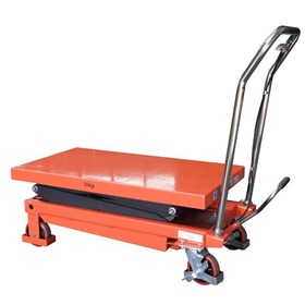 350KG Double Scissor Table Lifter/Trolley max table height 1300mm