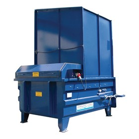 Easyquip | Hook Lift Stationary Waste Compactor