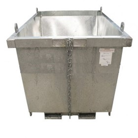 Waste Bins | Self Dumping Compact, Low Profile Bins