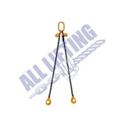 All Lifting 2 Legs Chain Sling with Self Locking Hooks Grade 80