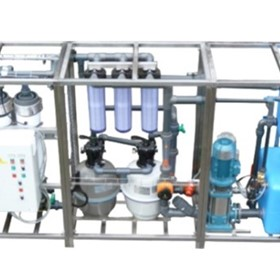 Portable Manual Water Purification System - 7500 litres per hour