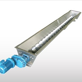 Stainless Steel Trough Screw Conveyors | CX