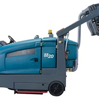 Integrated Ride-on Scrubber-Sweeper | M20