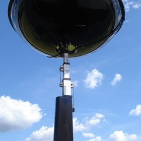Lunar Lighting Infra-Red HMI Flood Light Tower