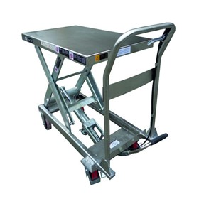 Stainless Steel Scissor Lift Table - 450kg