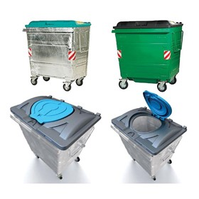 MGB Steel Waste Bins