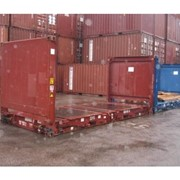 Special Container | 20ft Collapsible Flat Shipping Containers