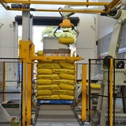 Robotic Bag Palletizing System