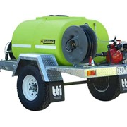 FIREPATROL15 WATER CART TRAILERS INC SPRAY BAR, HOSE REEL