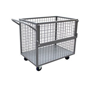 Stock Picking Trolley with Side Gate