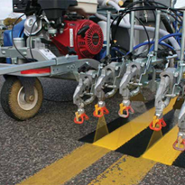 Increasing productivity and consistency for road & airport markings