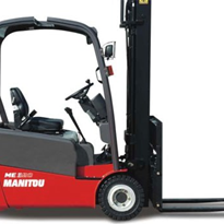 EOFY Special - Manitou ME 320 Masted Electric Forklift Truck