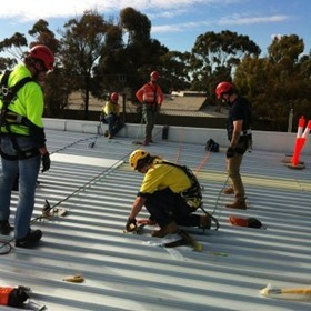 Height Safety Systems Installation | Fall Protection & Height Safety