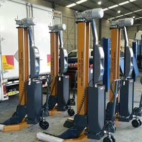 Heavy Duty Truck Workshop Hoists Mobile German Engineered USA Made