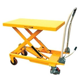 150KG Single scissor lift table/trolley Min-max table height:220-750mm