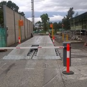Steel deck weighbridge & sub-frame for NSW site with contaminated soil