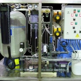 Portable Manual Water Purification System - 1000 litres per hour