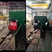 Automatic Steel Strapping Machine - Hot Rolled Coil Strapping