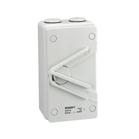 BYA Series Weatherproof AC Isolator Switch
