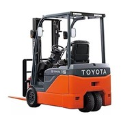Battery Counterbalanced Forklifts | 1.0 - 2.0 Tonne 8FBE 3-Wheel