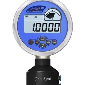 Digital Differential Pressure Gauge with IECEX | ADT 681