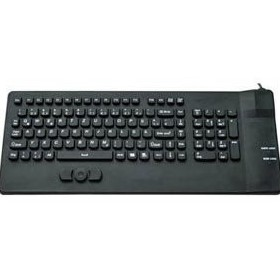 CyberVisuell | Waterproof  Keyboards with Pointer - Silicone CSK301