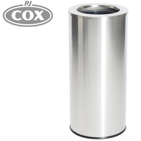 Stainless Steel Waste Bin with Removable Galvanised Liner