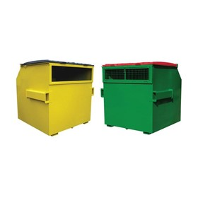 Slot Front Waste Bins