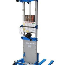 Aluminum Hand Stacker/Winch Lifter/Duct Lifter